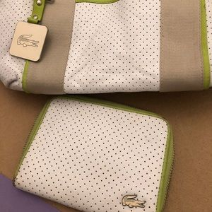 Lacoste Sport bag and wallet